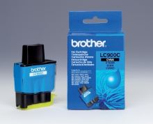 Inkoustová cartridge Brother LC-900C DCP-110C, MFC-210C, 410C, 1840C, modrá originál
