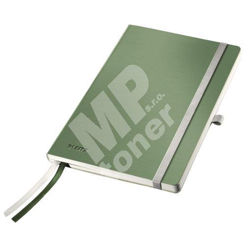 Zápisník Leitz STYLE A5, měkké desky, linkovaný, zelenkavý 1