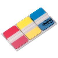 Záložky POST-IT Supersilné 686RYB červená,žlutá,modrá