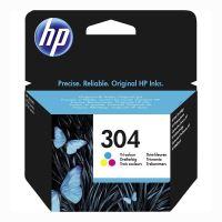 Inkoustová cartridge HP N9K05AE, Deskjet 3720, 3721, 3723, 3730, color, No.304, originál