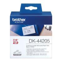 Papírová role Brother DK44205, 62mm x 30.48m, bílý, snímatelná, 1 ks
