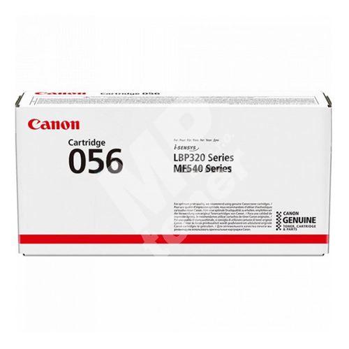 Toner Canon CRG 056, 3007C002, black, originál 1
