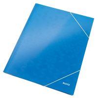 Tříchlopňové desky Leitz WOW A4, modré