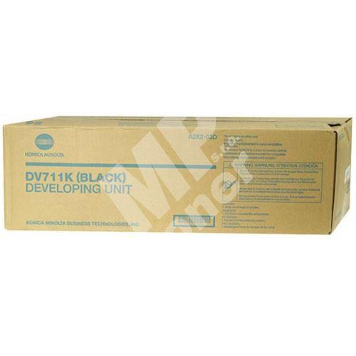 Toner Konica Minolta A2X203D, KM Bizhub C654, black, DV-711K, originál 1