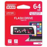 64GB Goodram UCL3, USB flash disk 3.0, černá