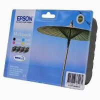 Inkoustová cartridge Epson C13T0445401, Stylus C64, černá + barvy, Multipack, 4*8ml, origi
