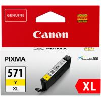 Cartridge Canon CLI-571Y XL, 0334C001, yellow, originál 3