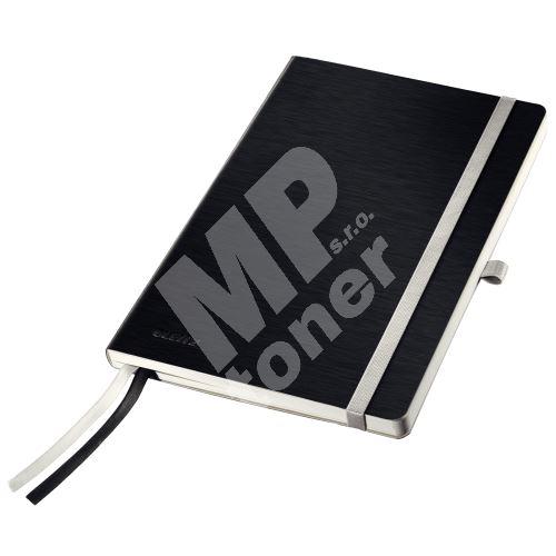 Zápisník Leitz STYLE A5, měkké desky, linkovaný, saténově černý 1