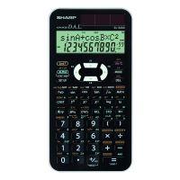 Kalkulačka Sharp EL-520XWH, černo-bílá, vědecká