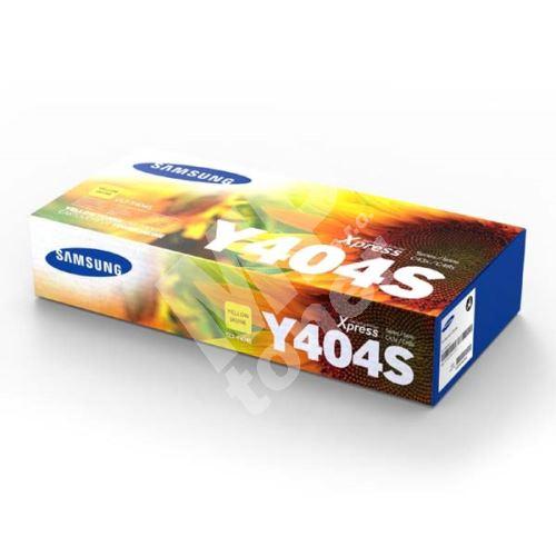 Toner Samsung CLT-Y404S, yellow, SU444A, originál 1