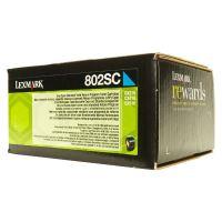 Toner Lexmark 80C2SC0, CX310dn, CX310n, CX410de, CX410, cyan, originál
