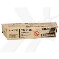 Toner Kyocera TK-815K, KM-C2630PN, černý, originál