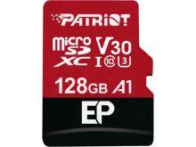 128GB Patriot microSDXC V30 A1, class 10 U3 100/80MB/s + adapter