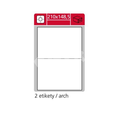 Samolepící etikety SK LABEL 210 x 148,5 mm 1