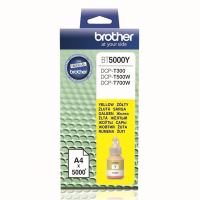 Inkoustová cartridge Brother BT-5000Y, DCP-T300, DCP-T500W, yellow, originál