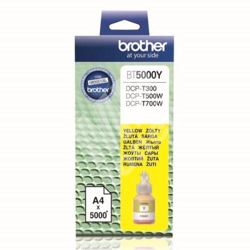 Cartridge Brother BT5000Y, yellow, originál 1