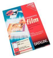Transparentní fólie A4 Esselte 57169 DATALINE, pro barevné laserové tiskárny, 1bal/50ks