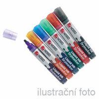 Popisovač na bílé tabule Nobo 3-in-1 LIQUID INK tenký barevný mix
