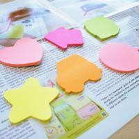 Samolepící bloček Stick n srdce pastelově růžové, 70 x 70 mm 2