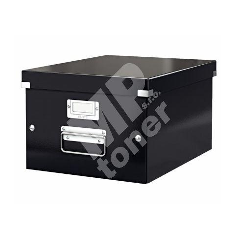 Archivační krabice Leitz Click-N-Store M (A4), černá 1
