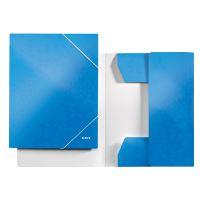 Tříchlopňové desky Leitz WOW A4, modré 3