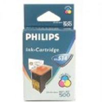 Inkoustová cartridge Philips PFA 534, MF-505, 440, 450, 485, 500 color originál
