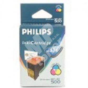 Inkoustová cartridge Philips PFA 534, MF-505, 440, 450, 485, 500 color originál