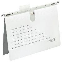 Závěsné desky Leitz ALPHA ACTIVE s rychlovazačem, bílé, balení 5