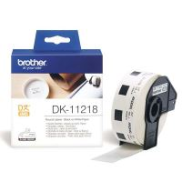 Papírové štítky Brother DK11218, 24mm, bílá, 1000 ks, pro tiskárny řady QL