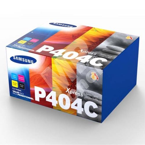 Toner Samsung CLT-P404C, CMYK, C4, SU365A, originál 1