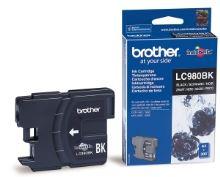 Inkoustová cartridge Brother LC-980BK, DCP 145C, DCP165C, black, originál
