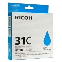 Inkoustová cartridge Ricoh 405689, GXe2600, 3000N, 3300N, 3350N, cyan, originál