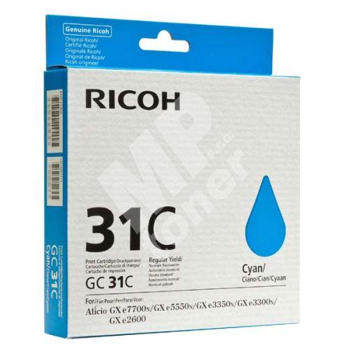 Cartridge Ricoh 405689, cyan, originál 1