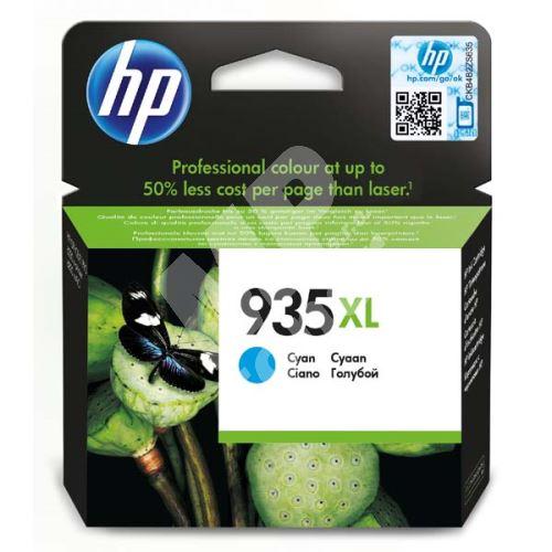 Cartridge HP C2P24AE, cyan, No.935XL, originál 1