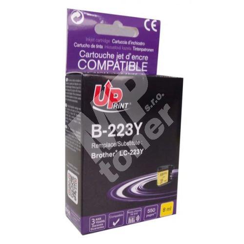 Kompatibilní cartridge Brother LC-223Y, MFC-J4420DW, MFC-J4620DW, yellow