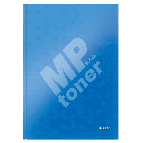 Zápisník Leitz WOW A4, linkovaný, modrý 1