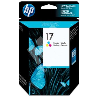 Inkoustová cartridge HP C6625AE color, No. 17, originál