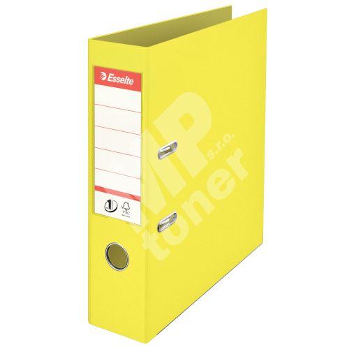 Pákový pořadač Esselte Colour Ice A4, žlutá, 75 mm 1
