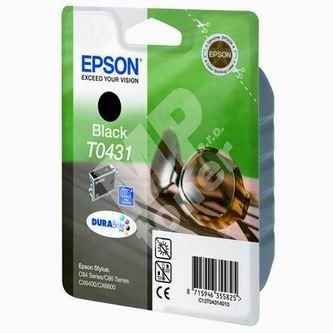 Inkoustová cartridge Epson C13T043140 Stylus C84, černá, 1 x 29 ml originál