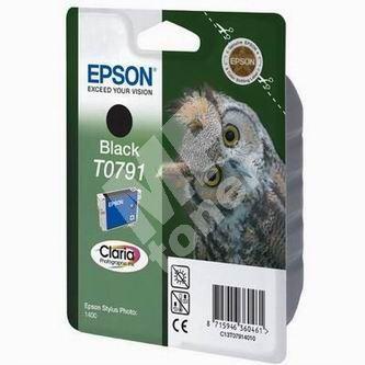 Cartridge Epson C13T079140, black, originál 1