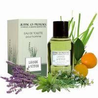 Jeanne en Provence Pánská toaletní voda EDT - Levandule a citrónová tráva, 100ml