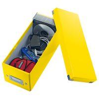 Archivační krabice na CD Leitz Click-N-Store WOW, žlutá 3
