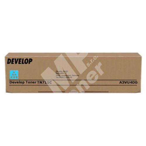 Toner Develop A3VU4D0, TN-711C, cyan, originál 1