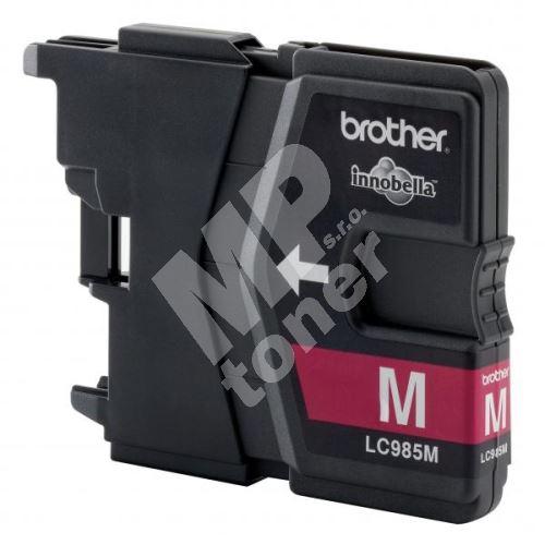 Inkoustová cartridge Brother LC-985M, DCP-J315W, magenta, originál