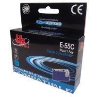 Kompatibilní cartridge Epson T055240 modrá, Uprint