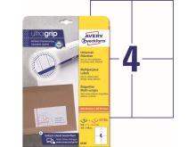 Samolepící etikety Ultragrip 105 x 148 mm, 30 listů A4 6120