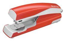 Stolní sešívač Leitz NeXXt 5502, celokovový, světle červený
