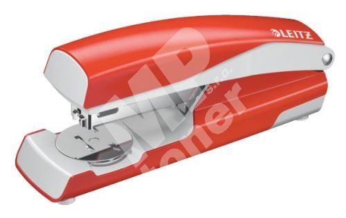 Stolní sešívač Leitz NeXXt 5502, celokovový, světle červený 1