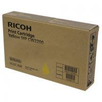 Inkoustová cartridge Ricoh MP CW2200, 841638, yellow, originál