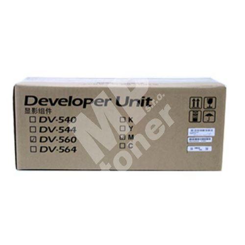 Developer Kyocera DV-560M, magenta, originál 1